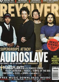 On the cover of REVOLVER Magazine August 2005