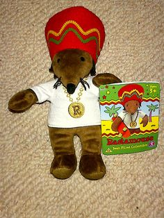 Rastamouse bean filled collectible suitable for ages 3+ #rozasebay #ebay #ebayuk