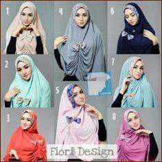 Jilbab Khimar Syar'i Maureen http://bundaku.net/pakaian-wanita/jilbab/jilbab-khimar-syari-maureen