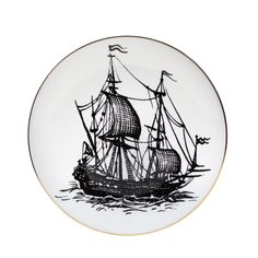 Pirate Ship Plate
