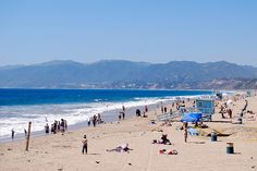 Santa Monica beach - the very first beach we went to in California