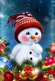 Merry Christmas Wishes, Short Christmas Messages, Xmas 2019 Wishes Christmas Scenes, Christmas Wishes, Christmas Pictures, Christmas Art, Christmas Greetings, Christmas 2019, Vintage Christmas, Xmas, Snowman Christmas Ornaments