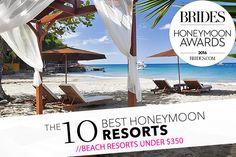 Brides: Best Beach Honeymoon Hotels Under $350