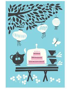 cards from Polkka Jam that make you dream of summer