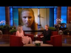 Hair Styling FAIL Girl Talks To Ellen - oh my gosh this is hilariouse!