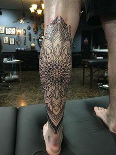 70 Mandala Tattoo Designs for Men - Symbolic Ink Ideas - Tattoos - Tatouage Mandala Tattoo Design, Henna Tattoo Designs, Mandala Tattoo Mann, Tattoo Henna, Tattoo Ideas, Best Leg Tattoos, Trendy Tattoos, Forearm Tattoos, Sleeve Tattoos
