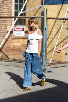 Spotted: Denim Down