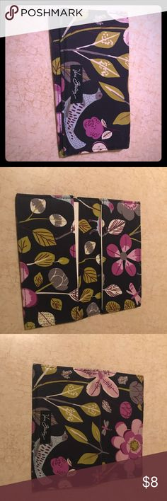 Vera Bradley Floral Nightingale checkbook cover Gently worn...fabric softer from use - was used for one season. Vera Bradley Bags Wallets