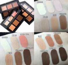 Anastasia Beverly Hills Contour Palette Swatches