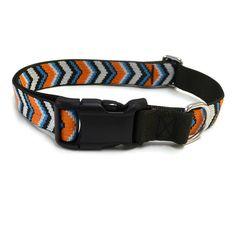 Waggo Chevron Dog Collar Pattern Dog Collar Waggo.com
