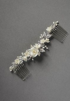 VERSE floral bridal hair comb 5