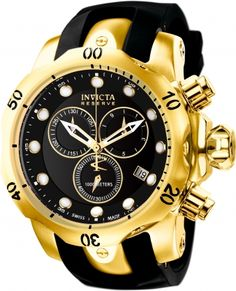 946d210a82b INVICTA Venom Men 53.7mm Stainless Steel Gold Black dial G10.211 Quartz  Relogio De. Relogio De Pulso MasculinoRelógios ...