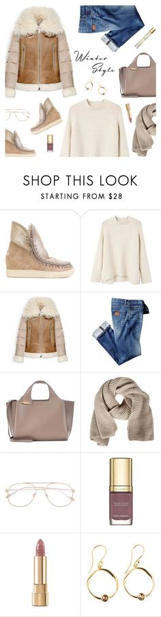 """""""Stay Warm: Puffer Coats"""" by sproetje ❤ liked on Polyvore featuring Mou, MANGO, Moncler, Victoria Beckham, FABIANA FILIPPI, Dolce&Gabbana, AERIN, ootd, CasualChic and WhatToWear"""