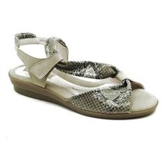 """The """"Hailey"""" by Beautifeel in Taupe Snake"""