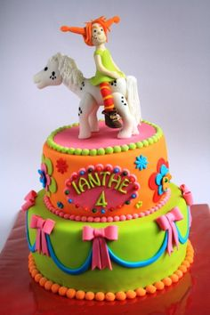 OMG OMG OMG! Pippi Long Stockings! Where was this cake when I was a kid???
