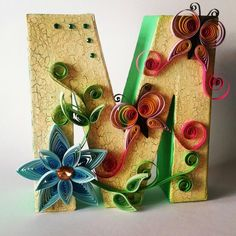 Letra quilling