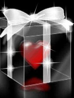 regalo con cuore