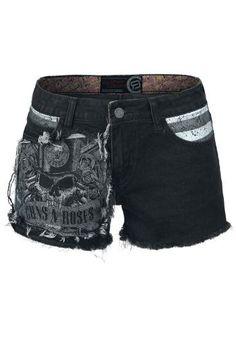 R.E.D. by EMP Signature Collection - Hot Pants van Guns N' Roses