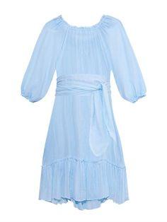 Kasbah ruffled cotton dress | Loup Charmant | MATCHESFASHION.COM