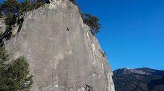 Barbara Zangerl sends hardest trad pitch for a female climber