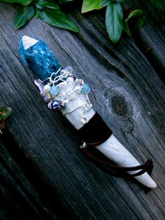 Sea Goddess Healing Wand by EireCrescent on Etsy, $32.99