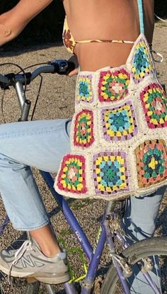 Crochet Clothes, Diy Clothes, Crochet Designs, Crochet Patterns, Knitting Patterns, Crochet Projects, Sewing Projects, Estilo Hippy, Ideias Diy