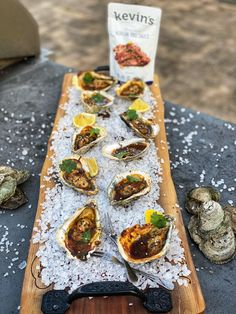 KOREAN BBQ GRILLED OYSTERS   APPETIZER   EASY RECIPE Seafood Stew, Fish And Seafood, Easy Appetizer Recipes, Quick Recipes, Grilled Oysters, Grilled Seafood, Seafood Recipes, Cajun Recipes, Fish Recipes