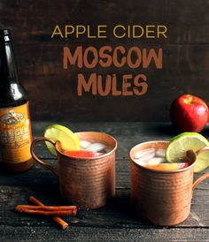 Apple Cider Moscow Mules   Style & Spice