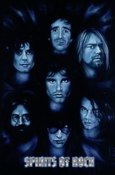 Spirits of Rock Poster - TshirtNow.net