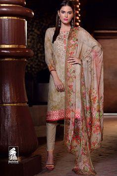 Digital Print Cotton Dress Material