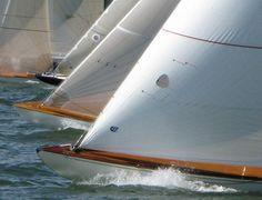 The start at the regatta.