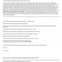 İso 9001 Kalite Yönetim SistemiDokümantasyon Dersleriİso 9001 Kalite Yönetim Sistemi Dokümantasyon Dersleri Tanımıİso 9001 Kalite Yönetim Sistemi Dokümantas. http://slidehot.com/resources/iso-9001-kalite-yonetim-sistemi-dokumantasyon-dersleri.55541/