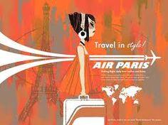 Air Paris 1960s ad