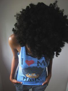 I love my hair.