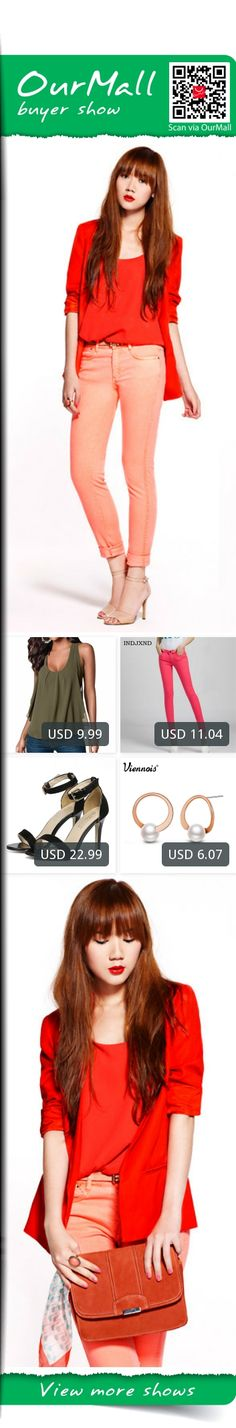 This is Camille Co's buyer show in OurMall;  1.Summer Casual Chiffon Vest Tops Tank Sleeveless T-Shirt Blouse Women Clothes Thin Black 2.Colored Jeans Cotton Pencil Legins Fashion jeans femme Mid Waist Woman Slim Fit skinny jeans 3.star with the word buckle high heels fine ... please click the picture for detail. http://ourmall.com/?jeMbUr #vest #womenvest #redvest #fashionvest #sleevenessvest #vestforgirls #vestforwomen #casualvest #sportsvest #springvest
