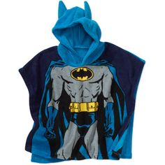 Baby Boys' Character Hooded Poncho Blanket @Kim Saucier this is on clearance at walmart.com for $10