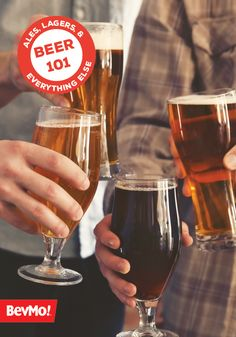 From American Ale to Weizenbock, this Beer 101 guide from BevMo! has all the information you need to find the right brew for you or your party guests. Plus, with information on keg basics and the proper glass for each ale, you can take your appreciation of delicious lagers to another level.