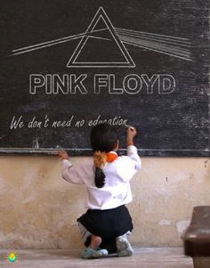Another Brick in the Wall. Pink Floyd. One of my favorite songs as a child