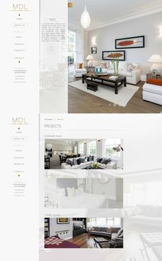 MDL is a London based company specializing in design, renovation and refurbishment of luxury properties on the local market. The design was focused on the clear, yet attractive presentation of content. Website uses Drupal Content Management System.