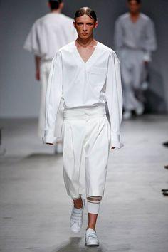 Juun J Menswear Spring Summer 2015 Paris Fashion Week June 2014 at Palais de Tokyo