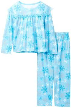 Candlesticks Blue Snowflake Pajama Set (Toddler Girls)