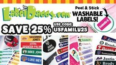 Label Daddy Labels Are The Best for Summer Camp And More! See how you can order some for a great price!