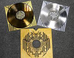 Platinum and gold coated vinyl