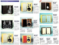 NATURAL SOUND COMPONENT Yamaha Speakers, Serenity, Catalog, Audio, History, Natural, Sweet, Vintage, History Books
