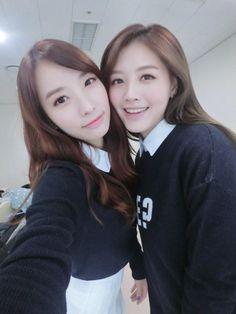 Jisook and Jaekyung