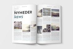 Arkitektur Dk on Editorial Design Served