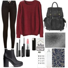 Untitled #1 by loloweed on Polyvore featuring polyvore moda style H&M Topshop Casetify MAC Cosmetics Seletti Shades of Grey by Micah Cohen