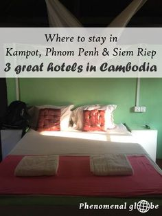 A detailed one-week Cambodia itinerary including Kampot, Phnom Penh and Siem Reap (Angkor Wat) that will help you to make the most of your trip to Cambodia! Travel Info, Asia Travel, Travel Guide, Travel List, Hotels In Cambodia, Cambodia Travel, Tonle Sap, Thailand Adventure, Kampot