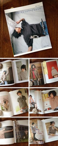 Cable Fashion Drama — Japanese knitting pattern collection.  Love Japanese knitting and crochet patterns.  With photos, schematics and charts, it's all doable without knowing Japanese!