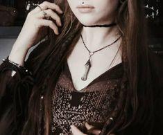 """"""" hel """" pagan bones necklace"""